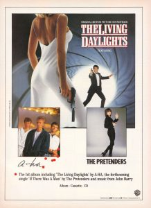 The Pretenders The Living Daylights
