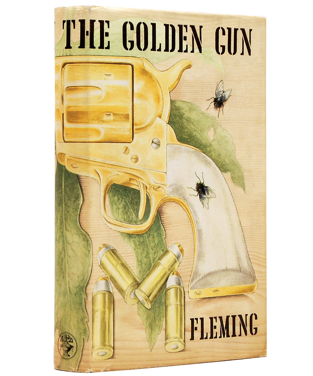 The Man With The Golden Gun first edition
