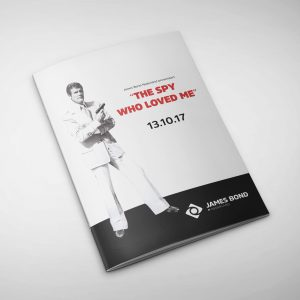 Cover The Spy Who Loved Me brochure