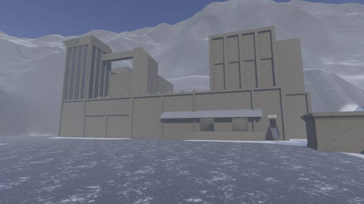 Dag 1: de ruwe opzet van de chemische fabriek.