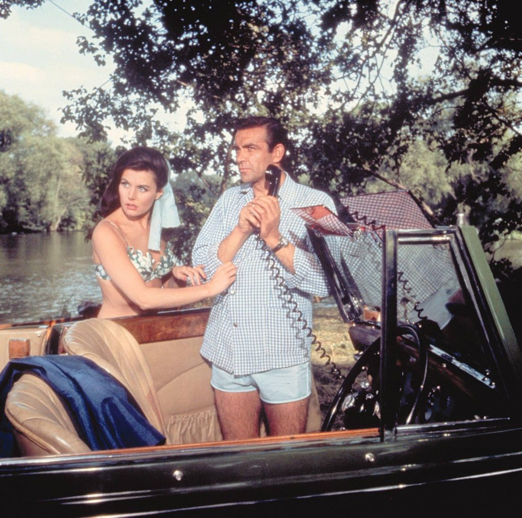 Sean Connery en Eunice Gayson in From Russia With Love