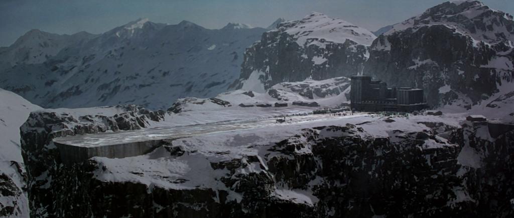 Nucleaire fabriek in de film GoldenEye
