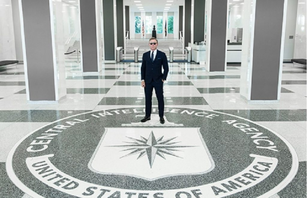 Daniel Craig bij de CIA
