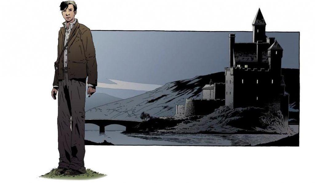 James Bond in SilverFin (2005) getekend door Kev Walker.