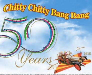 50 jaar Chitty Chitty Bang Bang in 2018.