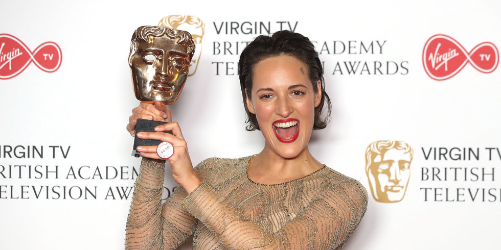 Phoebe Wallis-Bridge wint een BAFTA-award.
