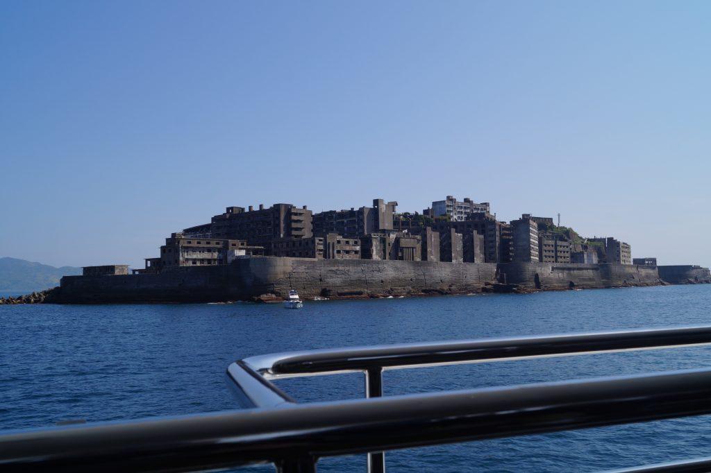 Hashima Island – Vanaf de boot