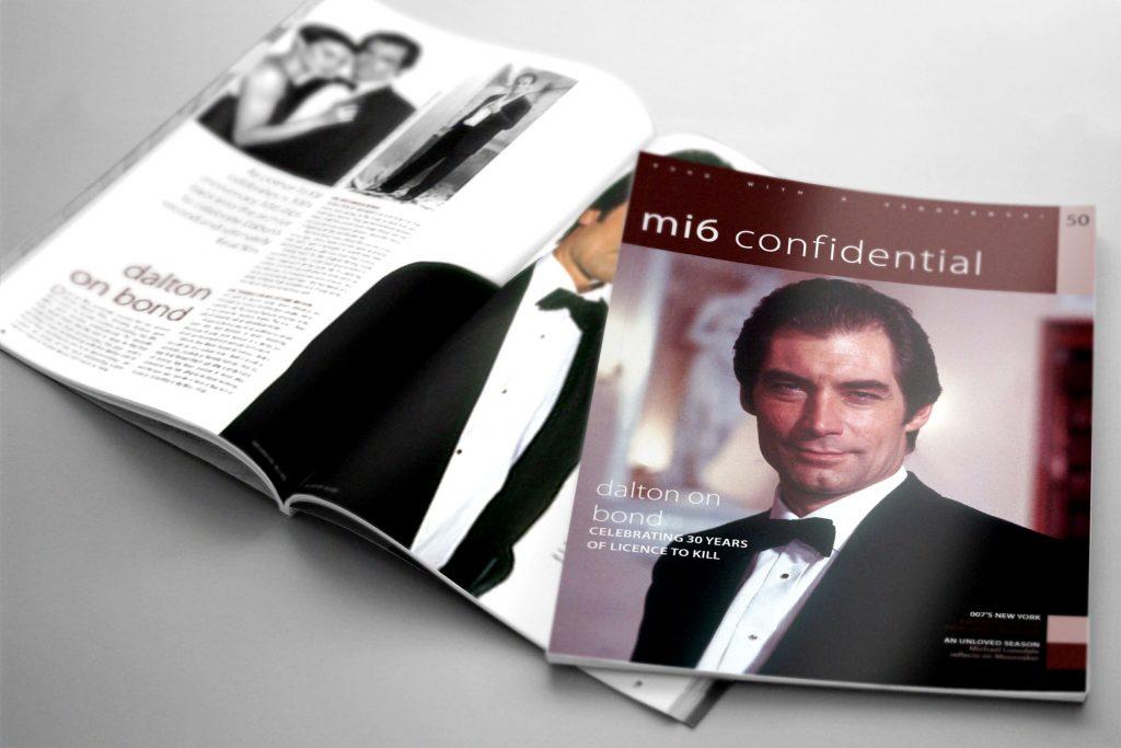 impressie MI6 Confidential #50.