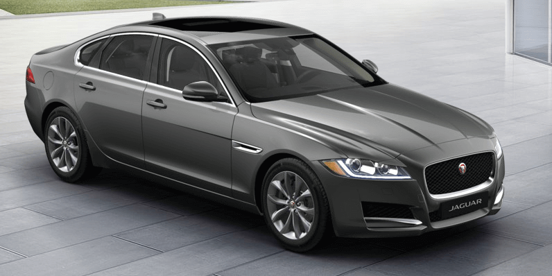 No Time To Die 2019 Jaguar XF Corris Grey