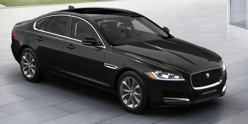 No Time To Die 2019 Jaguar XF Santorini Black