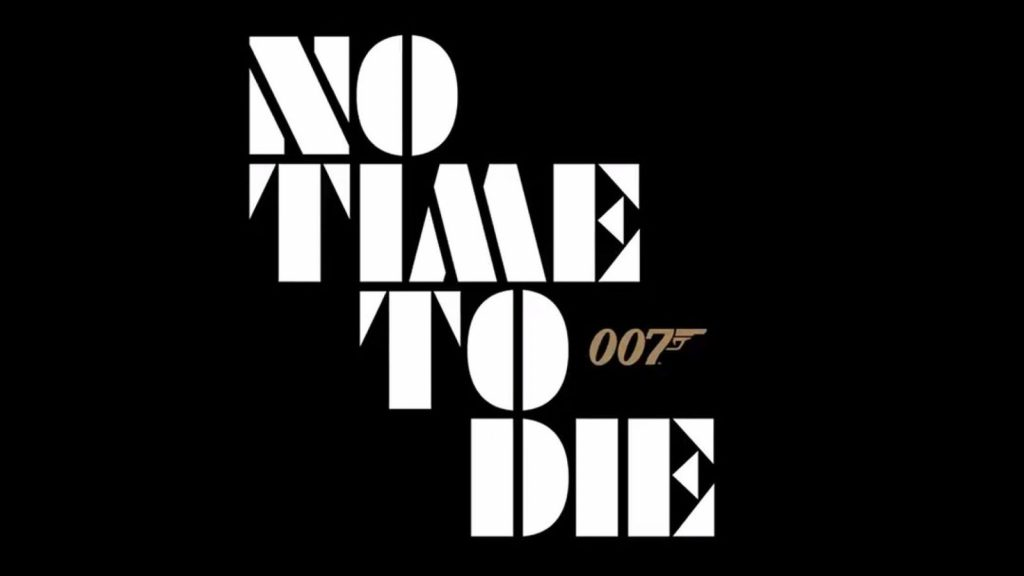 No Time To Die titel logo
