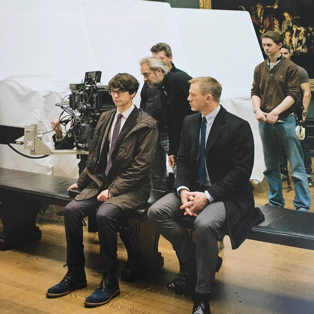 Skyfall James Bond Q Daniel Craig Ben Whishaw achter de schermen National Gallery