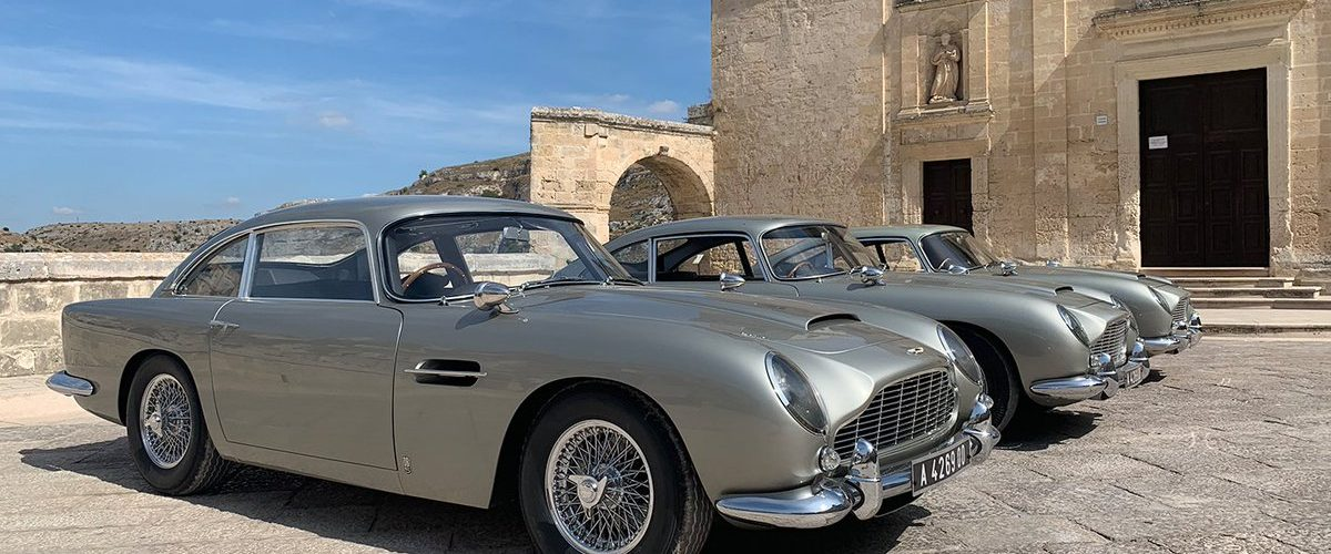 No Time To Die Aston Martin DB5 MAtera Italie fotoshoot 002