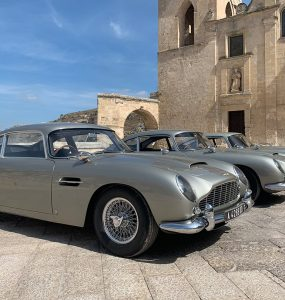 No Time To Die Aston Martin DB5 MAtera Italie fotoshoot 002