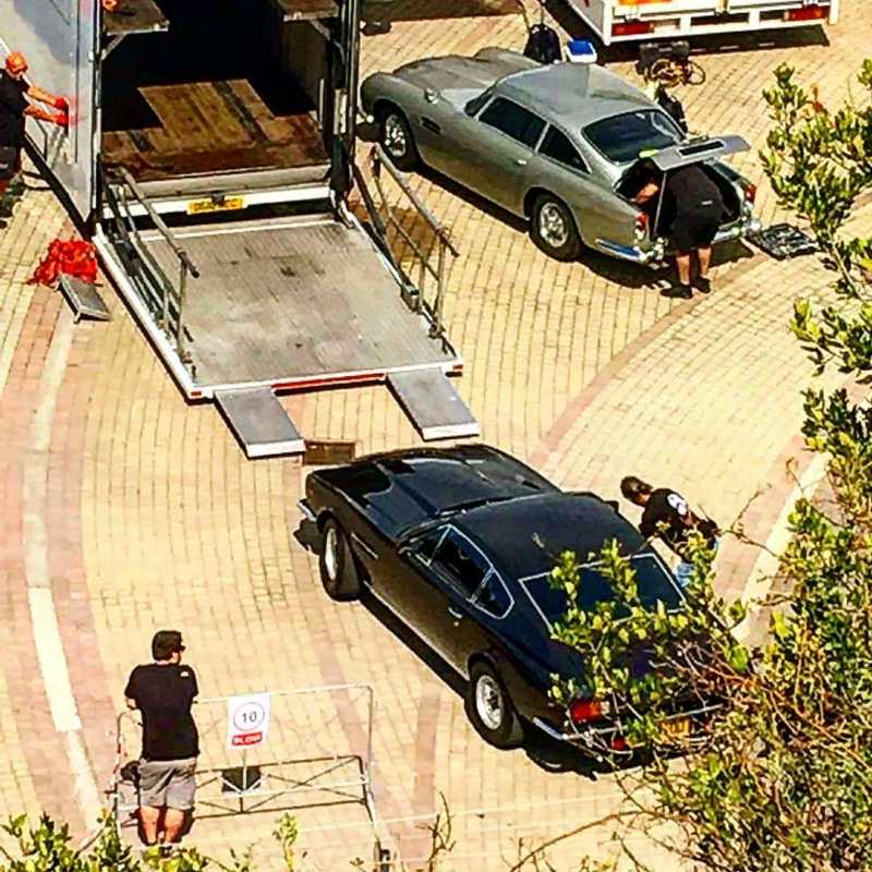 No Time To Die Sapri Aston Martin V8 DB5 002