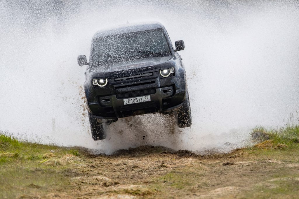 2. The New Land Rover Defender in action