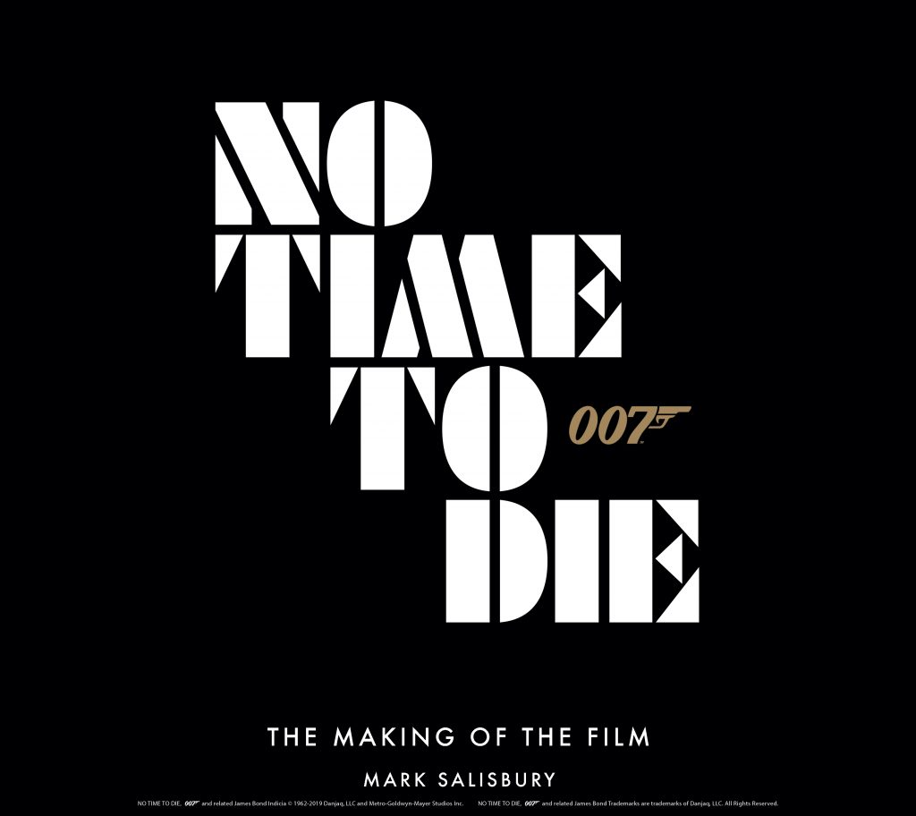 No Time To Die making of book titan books 2019