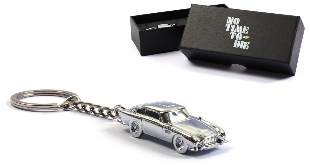 No Time To Die sleutelhanger Aston Martin DB5 001