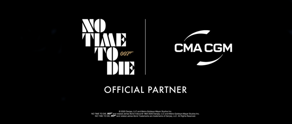 No Time To Die sponsorschap CMA-CGM