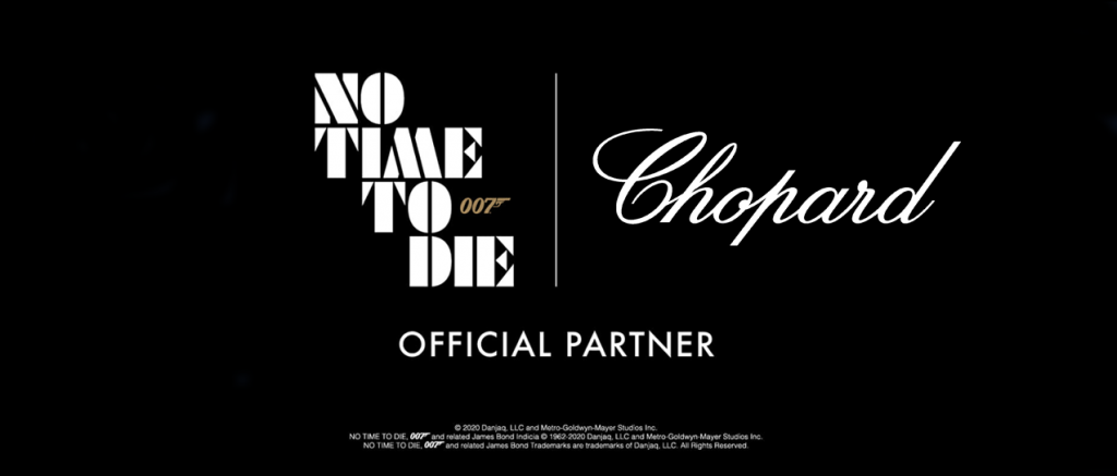 No Time To Die sponsorschap chopard