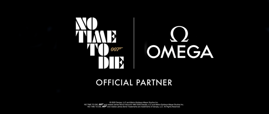 No Time To Die sponsorschap omegakopie