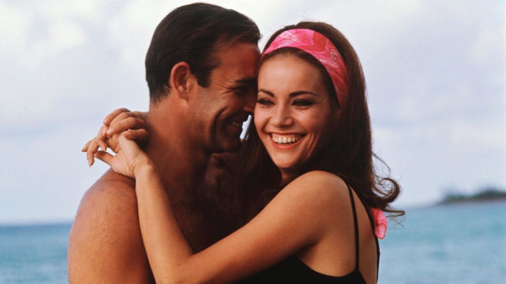 Thunderball Sean Connery James Bond Claudine Auger Dominique Druval Domino Bahamas