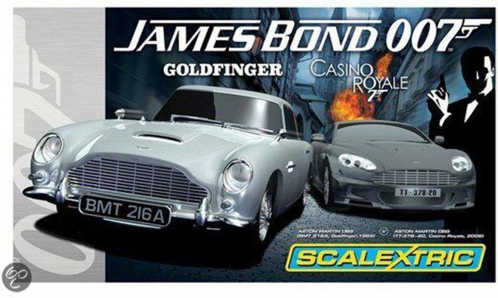 Scalextric Casino Royale set