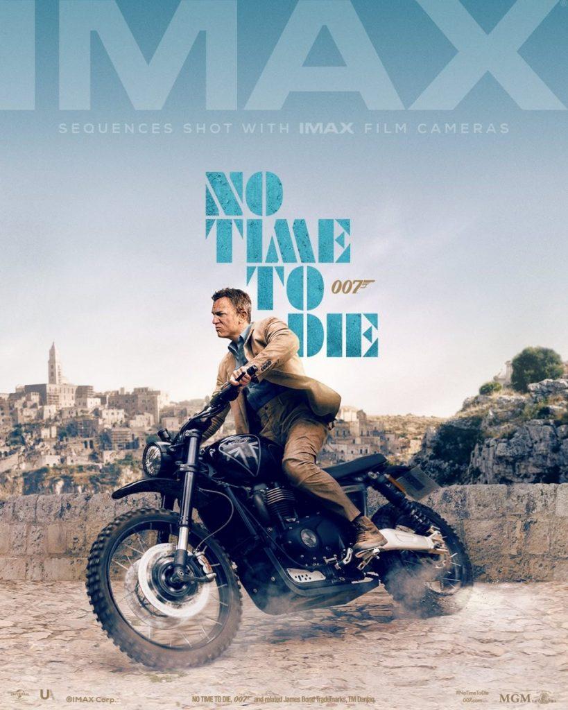 No Time To Die Imax Italie Matera Triumph James Bond Daniel Craig