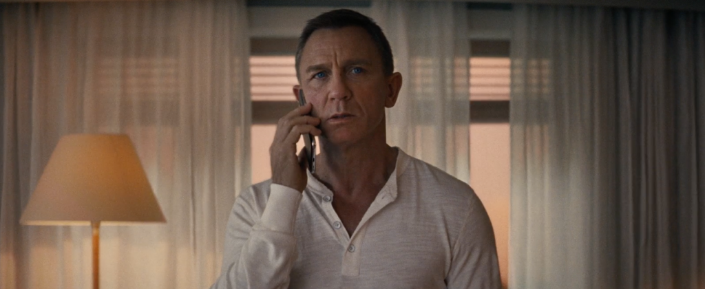 No Time To Die James Bond Daniel Craig telefoon Nokia