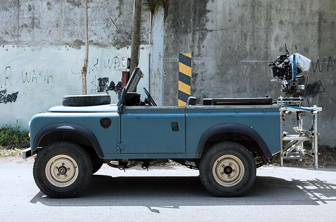 No Time To Die Land Rover Series III 002