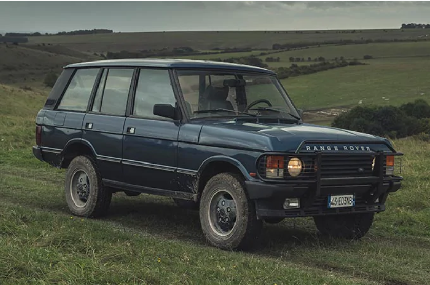 No Time To Die Ranger Rover Classic