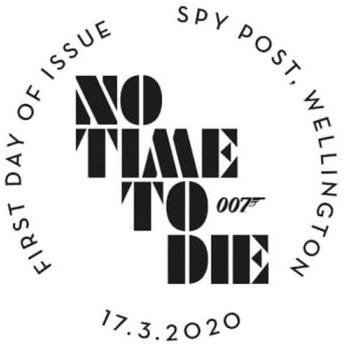 Royal Mail postzegels 2020 karakter set spy post 002