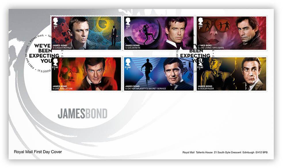 Royal Mail postzegels 2020 karakter set talent house 001