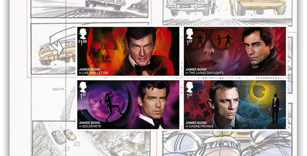 Royal Mail postzegels 2020 prestige set 003