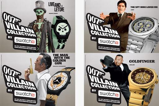 Swatch James Bond Villians Collection