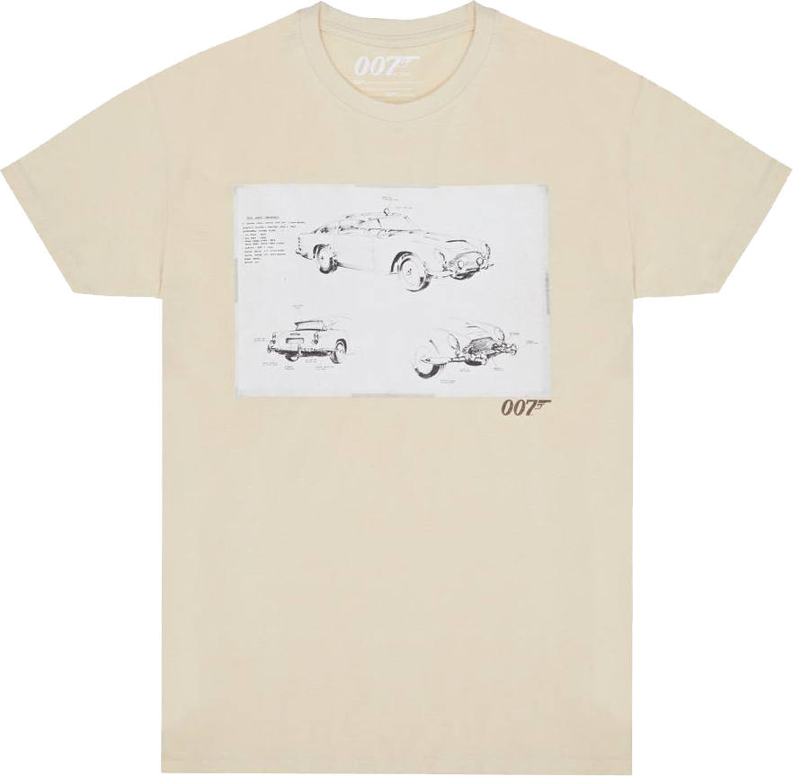 007store tshirt aston martin db5