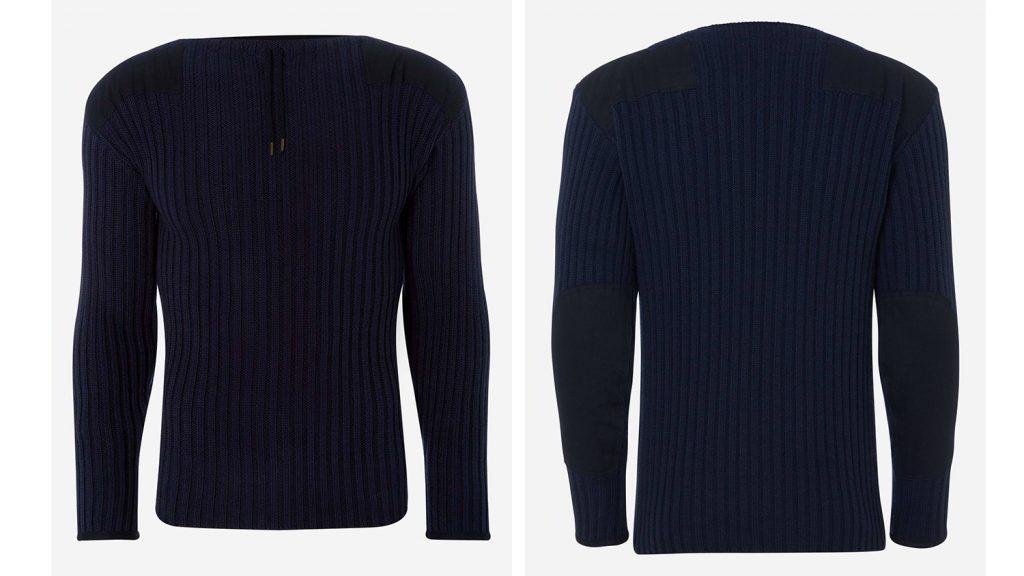 De army sweater van James Bond in No Time To Die is nu te koop