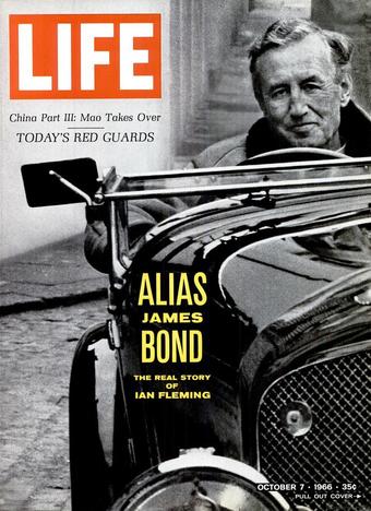 LIFE-magazine met Ian Fleming op de cover