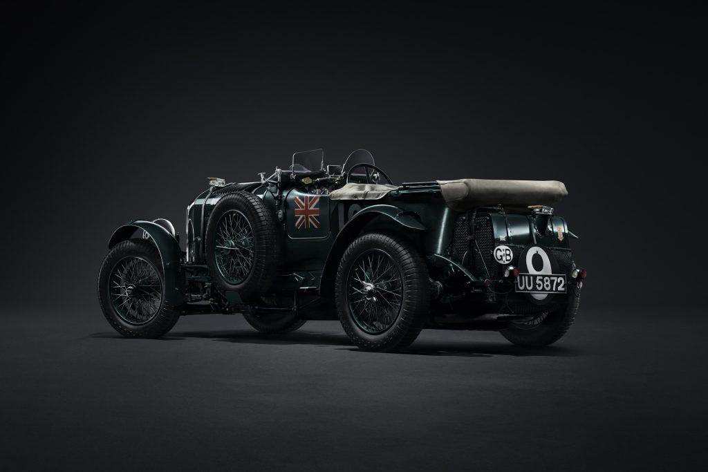 Bentley Continuation achterzijde