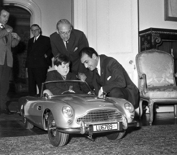 The Little Car Company Aston Martin DB5