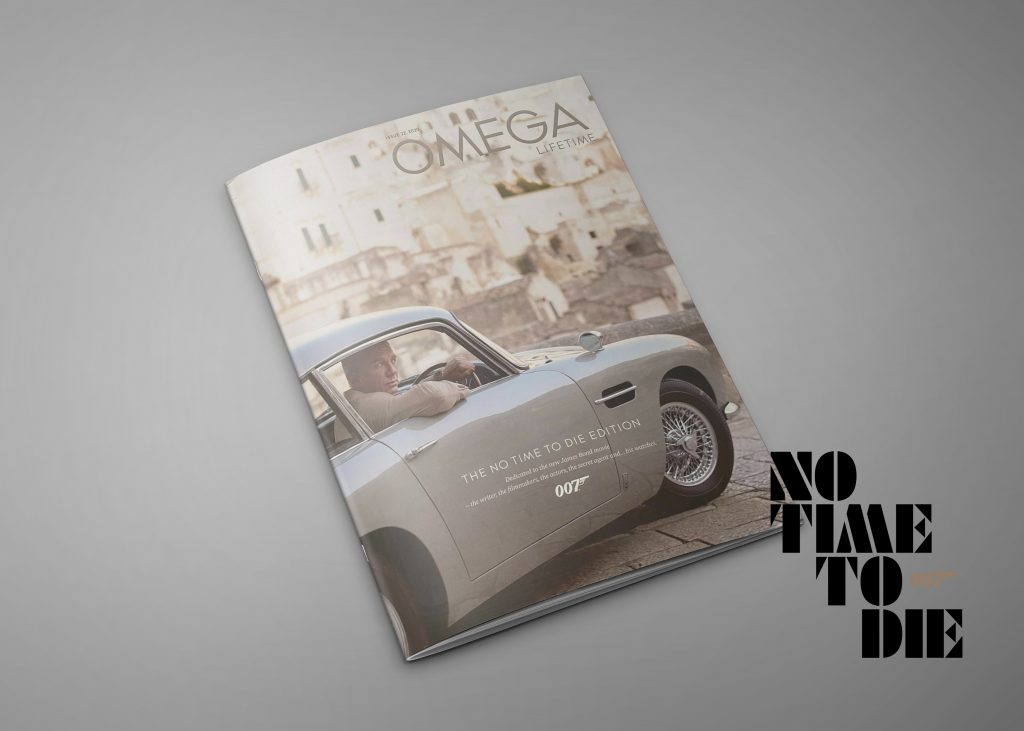 Omega Lifetime magazine editie 22: No Time To Die