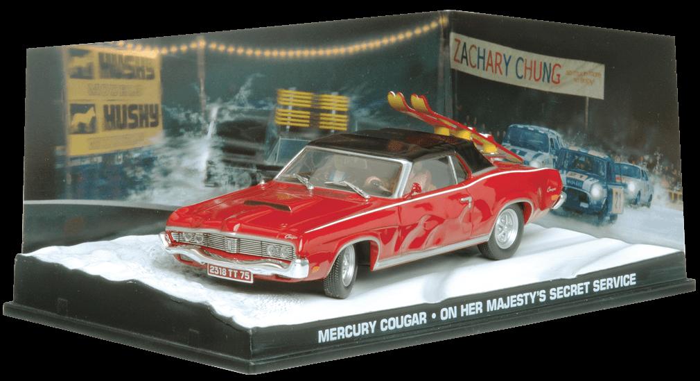 Schaalmodel uit The James Bond Car Collection