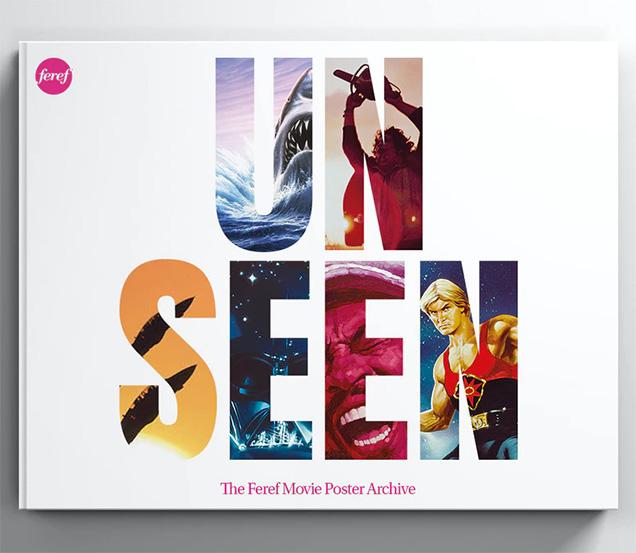 Unseen: het boek over filmposters uit het archief van Feref.